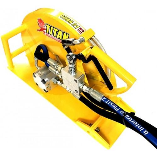 "Titan 21 - 21"" Complete Hydraulic Handsaw"