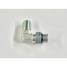 "1/4"" Pipe male/90 Fitting O-Ring Boss"